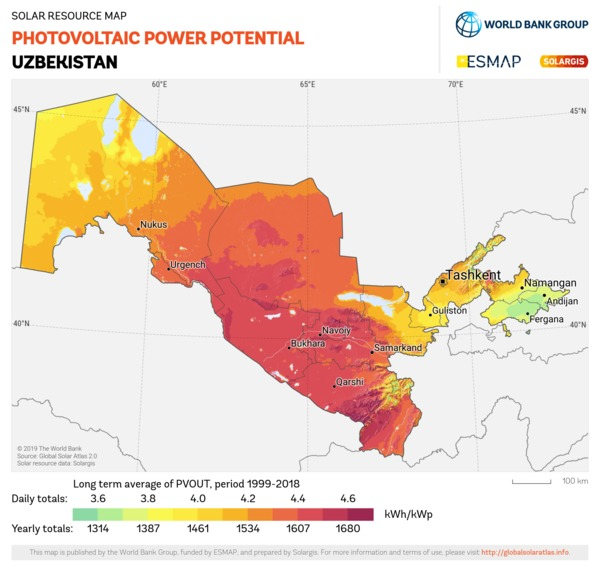 Solar resource maps and GIS data for 180+ countries | Solargis